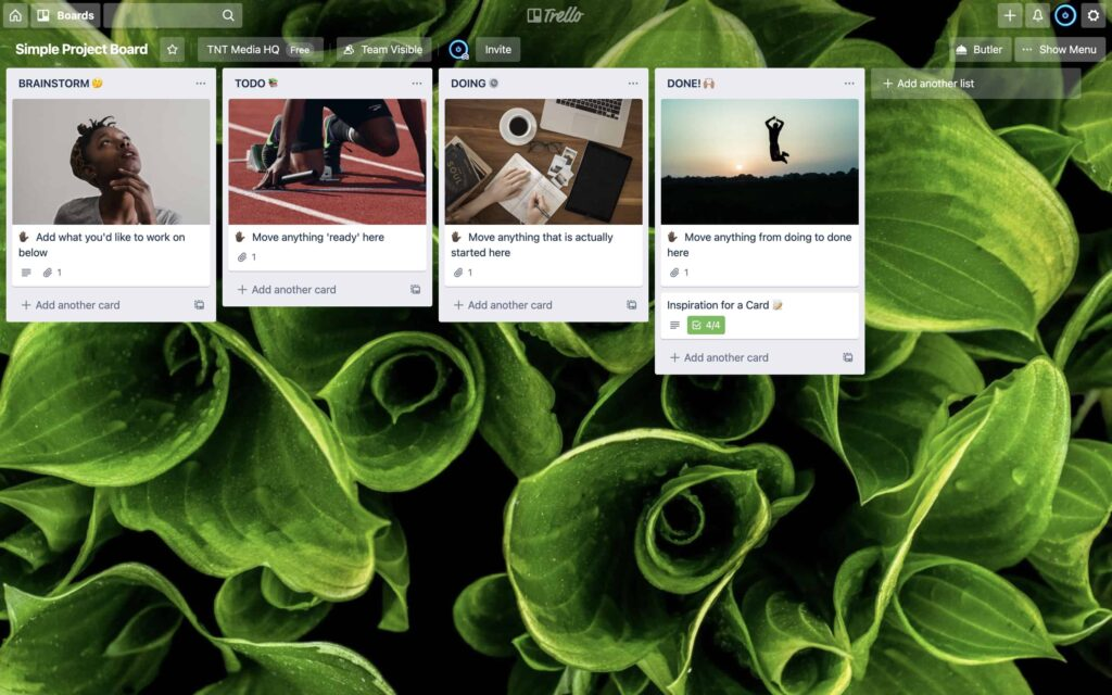 Trello uses a simple interface, but it is really powerful overall